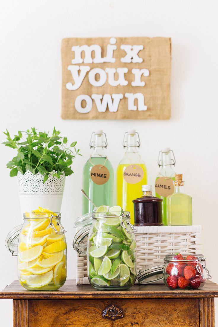 Photo of Fruity drink station
