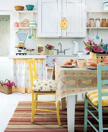 Cute Quaint Kitchen Design Pictures Remodel Decor And Ideas Page 7 Shabby Chic Kitchen Chic Kitchen Home Decor
