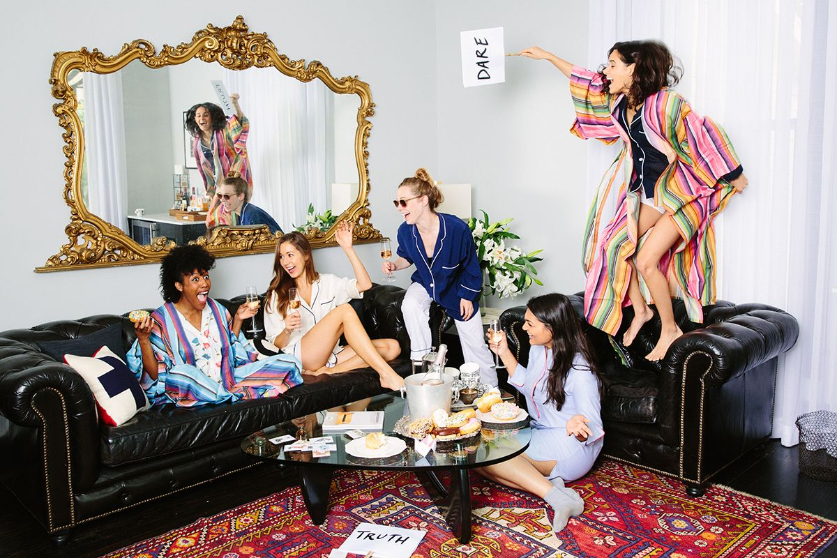 We threw a slumber party in our thirties and it was pretty much the best thing we've ever done.