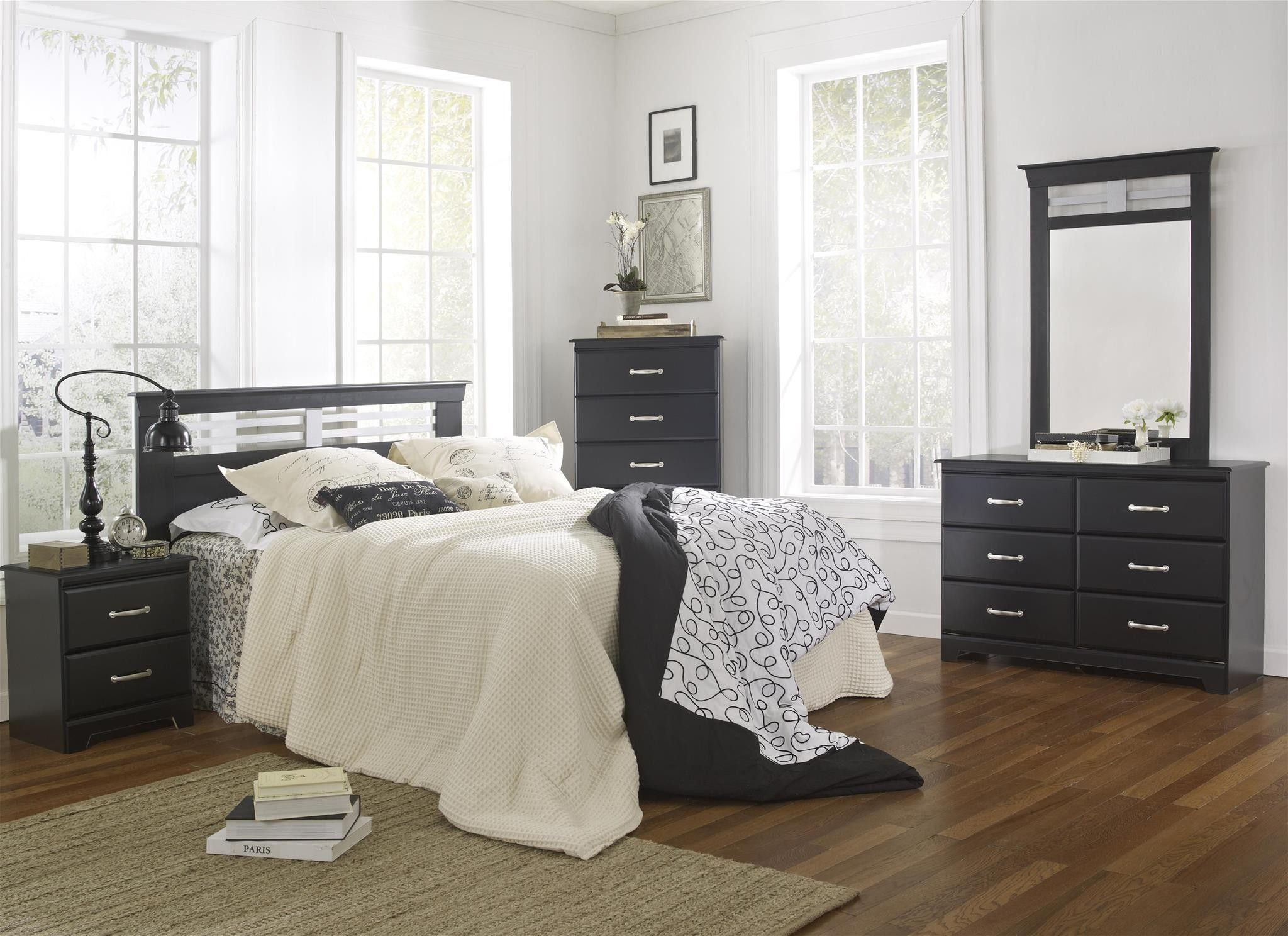 image cassic industrial bedroom furniture. Traditional With An Industrial Twist. Finished In Classic Black Brushed Silver Hardware And Trim · Cheap Bedroom SetsWood Image Cassic Furniture O