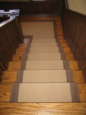 Nice Stair Runner With Border