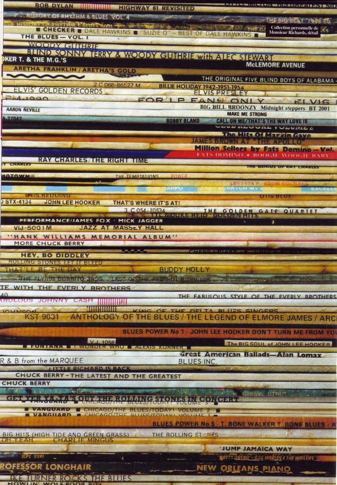 some of keith richards' record collection