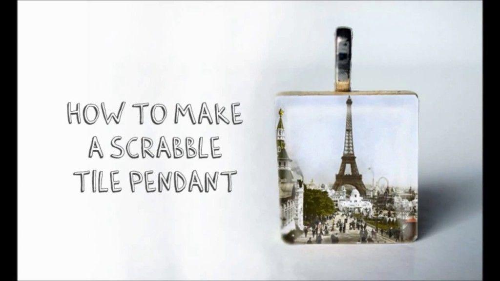 Tutorial how to make a scrabble tile pendant scrabble tiles tutorial how to make a scrabble tile pendant aloadofball Choice Image