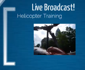 Live Helicopter Training Broadcast Visit HelicopterGround.com