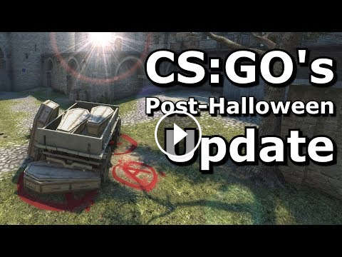 Cs Go S Post Halloween Update Cs Go Update Post Halloween Halloween