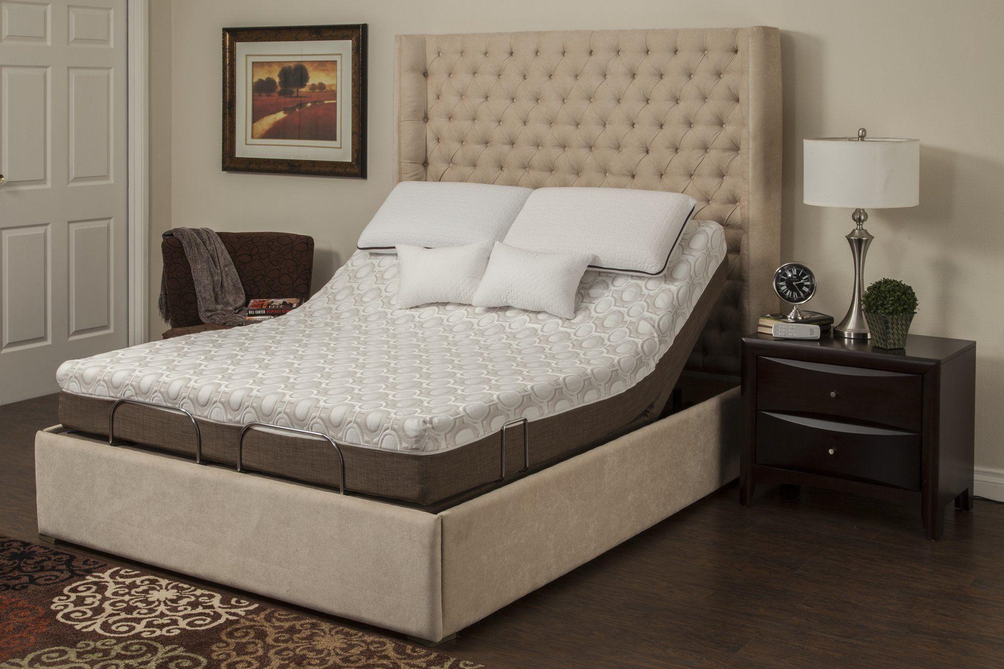 Peony Adjustable Bed Base And Mattress Adjustable Beds Mattress