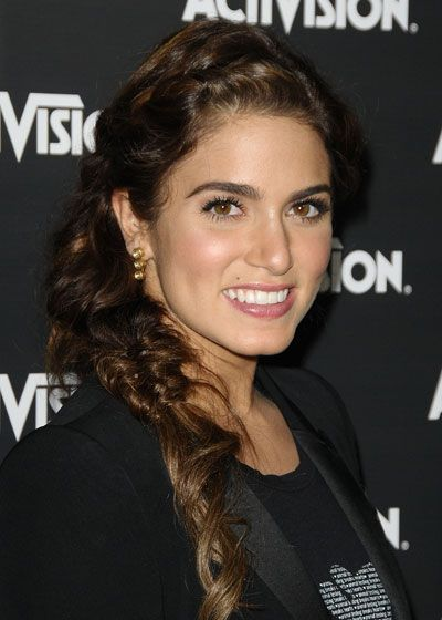 Try top and bottom braids like Twilight's Nikki Reed