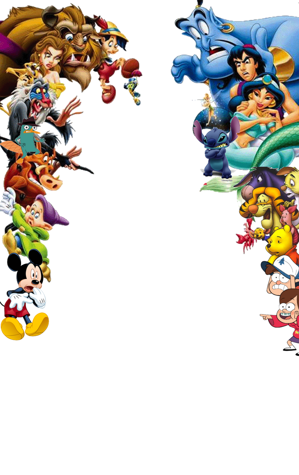 Disney Characters Shocked By Edogg8181804 On Deviantart Disney Characters Disney Characters Png Disney Characters Images