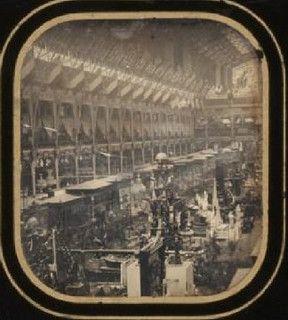 Exposition Universelle 1855: Palais d'Industrie
