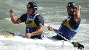 Olympic kayaking champs and Twin brother