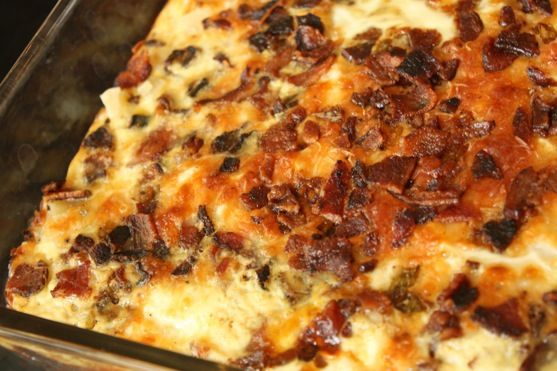 easy potato bacon casserole