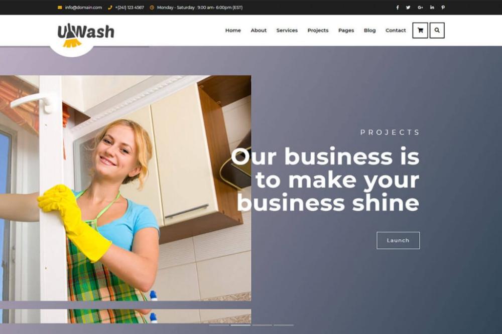15 Best Cleaning Website Templates 2021 Website Template Templates Website