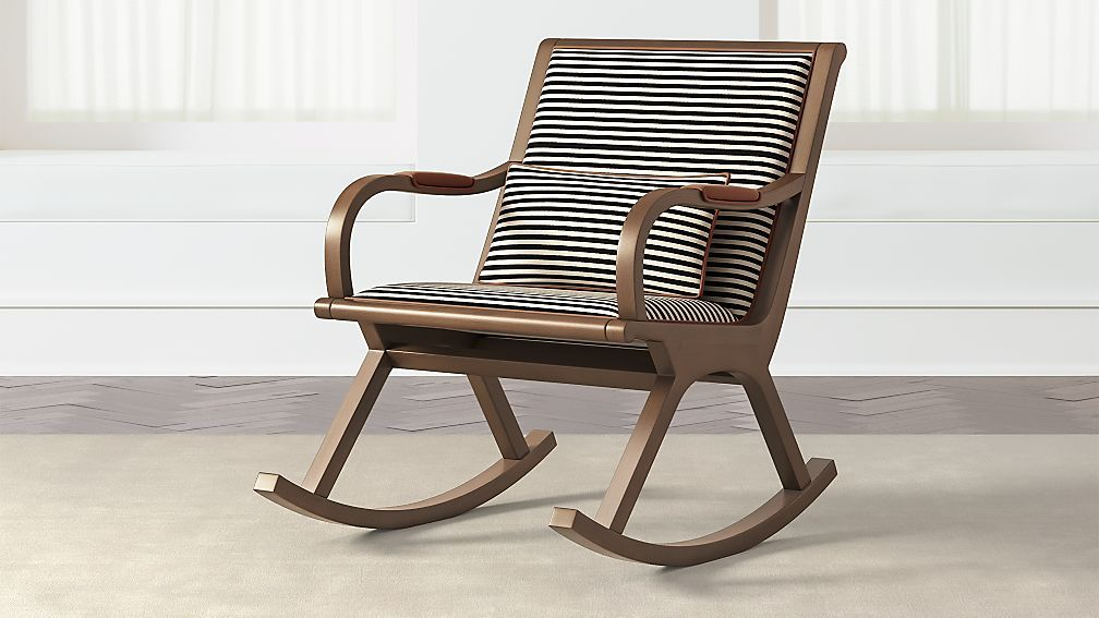 Bakersfield Rocking Chair + Reviews | Crate and Barrel