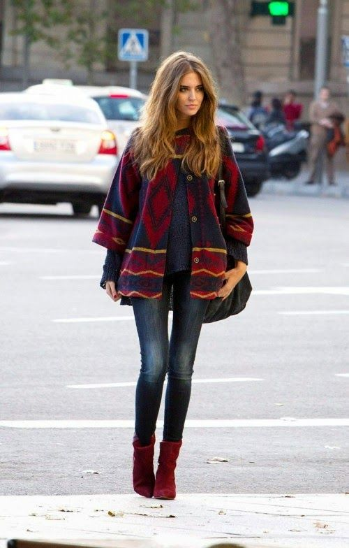Blanket coat looks