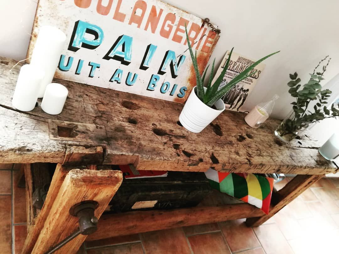New one 😍😍 #etabli #danssonjus #vintage #bricolage #recup #decoecolo #decovintage #decorationinterieur #decor #madecoamoi #maisondecampagne #interieurvintage #interieur #homemade #homesweethome #homedecor #home #instahome #industriel #instadecor