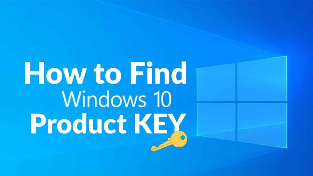 How To Find Your Windows 10 Product Key in 2020 | Windows 10
