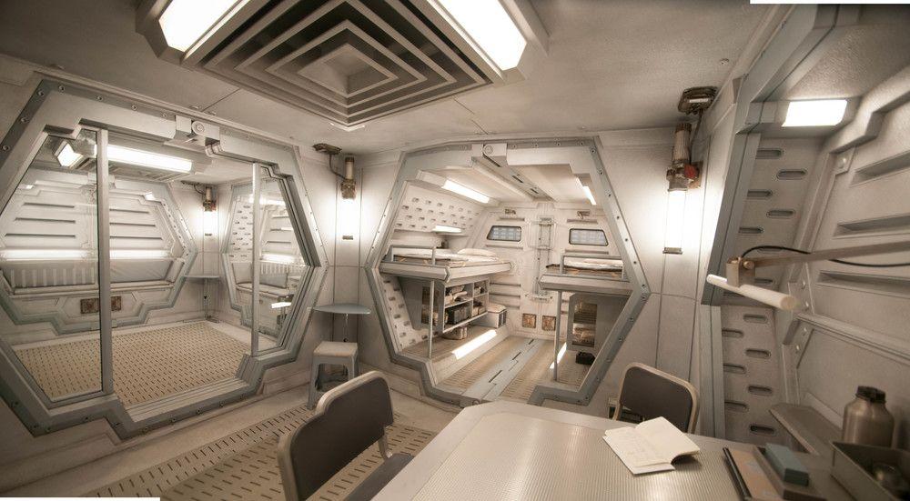 Sci Fi Bunker Interior Spaceship Interior Futuristic Interior