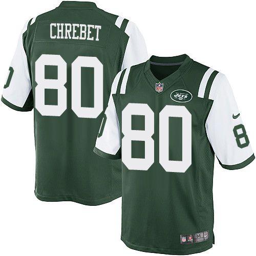 Nike Limited Wayne Chrebet Green Men's Jersey New York