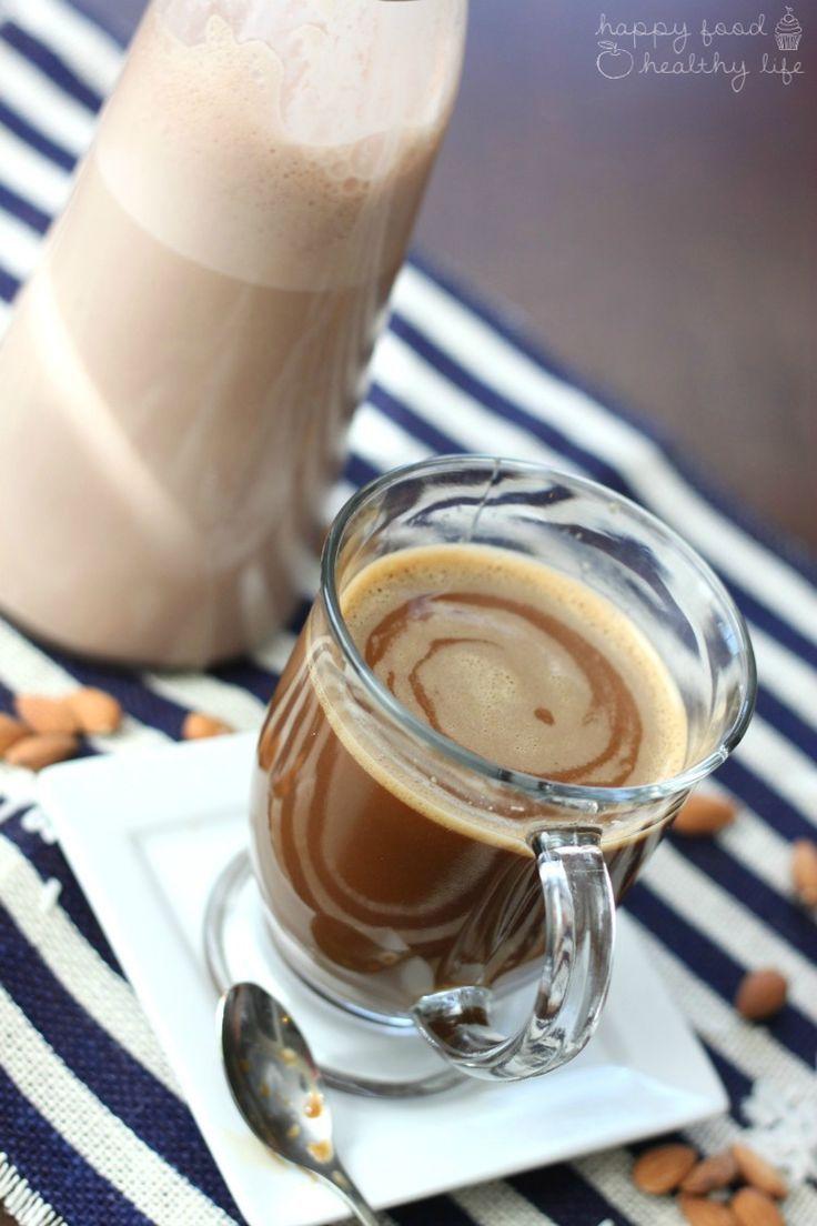 Dairyfree almond joy coffee creamer happy food healthy