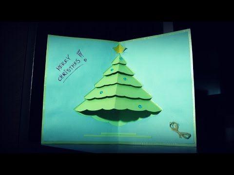 Weihnachtskarten selber basteln #7 - Weihnachtsgeschenke - Christmas Card DIY - YouTube