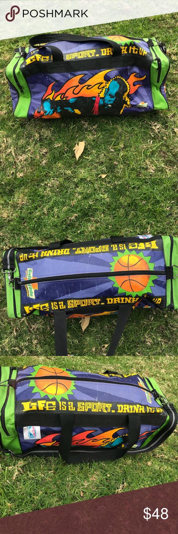 97b90689b4c7 Michael Jordan Gatorade Duffle bag Vintage MJ duffle bag as seen Jordan  Bags Duffel Bags