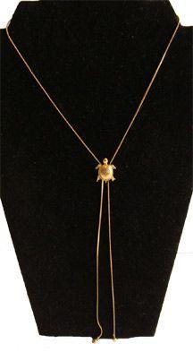 Avon 70s Turtle Necklace