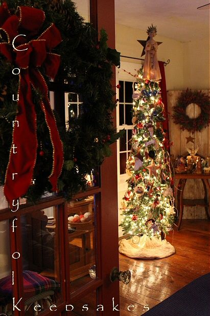 Countryfolk Keepsakes Country Christmas Trees Country Christmas Holiday Decor