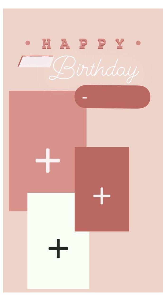 happy birthday insta story template
