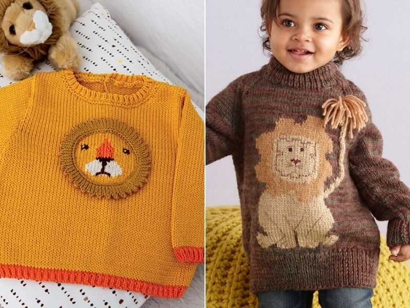 Photo of Roarsome Kids Sweaters Free Knitting Patterns – Free Crochet Patterns
