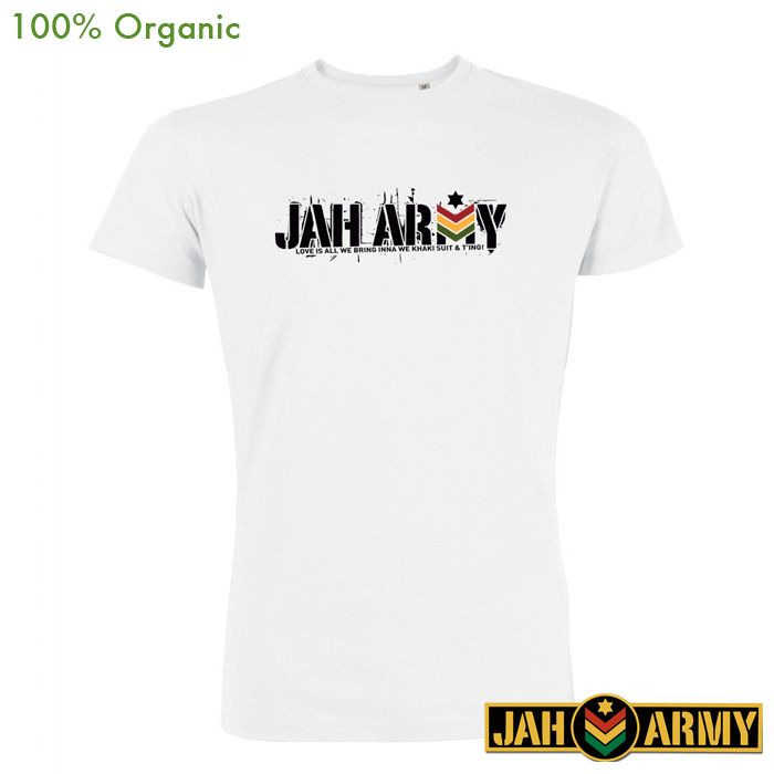 Jah Army – New Foundation – white - reggae-wear.de - your online shop for  reggae-inspired fashion