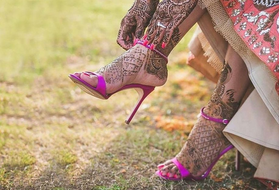 Trending Wedding Shoes Spotted on Real Brides! Wedding