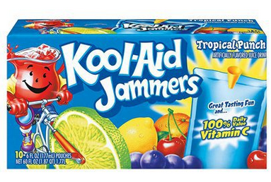 Kool Aid Jammers 10 Pk Only 1 38 At Walmart With New Coupon Kool Aid Juice Drinks Drinking Kool Aid