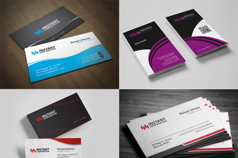 Business Card Pack 1 Pack Of Cards Business Fonts Card Templates
