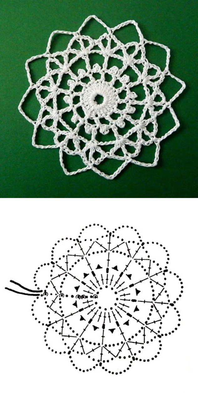 snowflake 667 | Alambre | Pinterest | Croché, Ganchillo y Mandalas