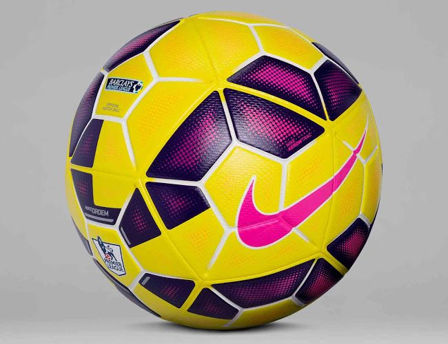 New Nike Ordem Hi Vis 14 15 Premier League La Liga And Serie A Winter Ball In 2020 Nike Ordem Soccer Premier League