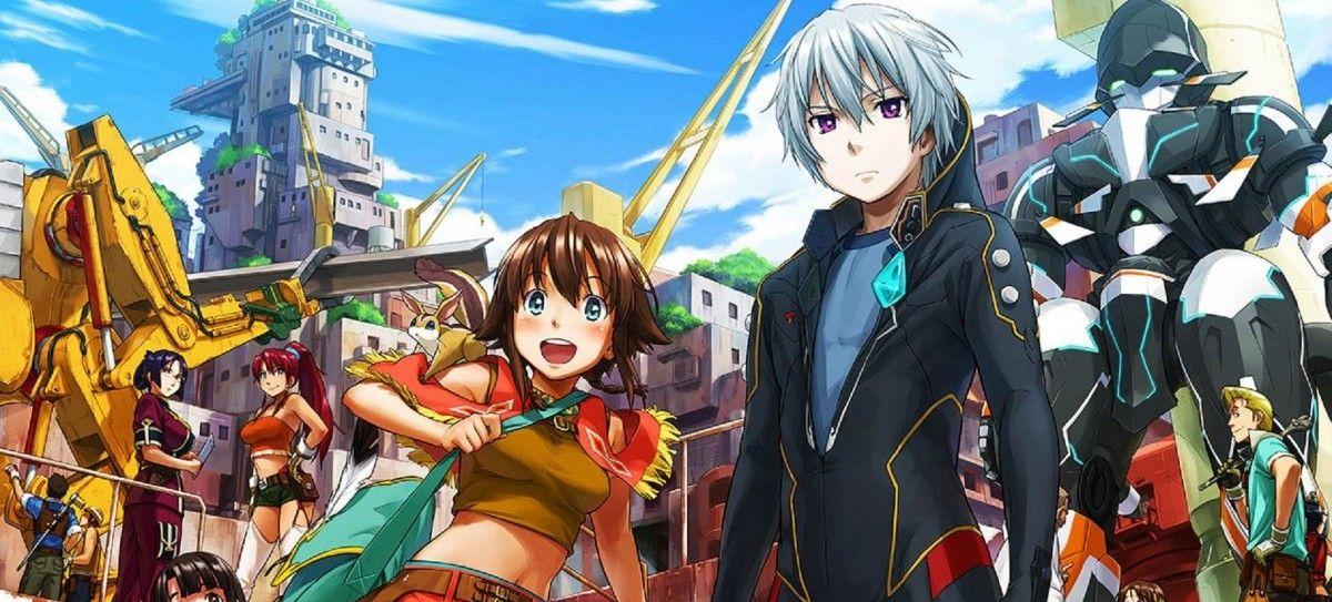 Gargantia Viz Media Anime Free Anime Streaming