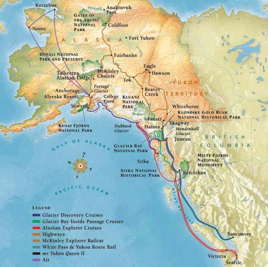 About Alaska Cruise Tours Alaska Cruises And Land Tours Travel