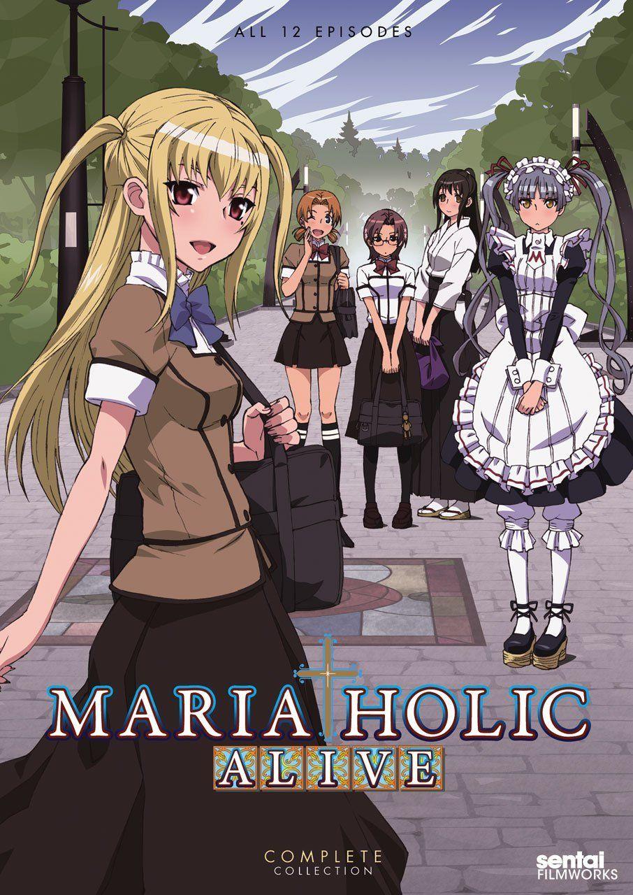 Maria Holic Alive /// Genres Comedy, Parody, School