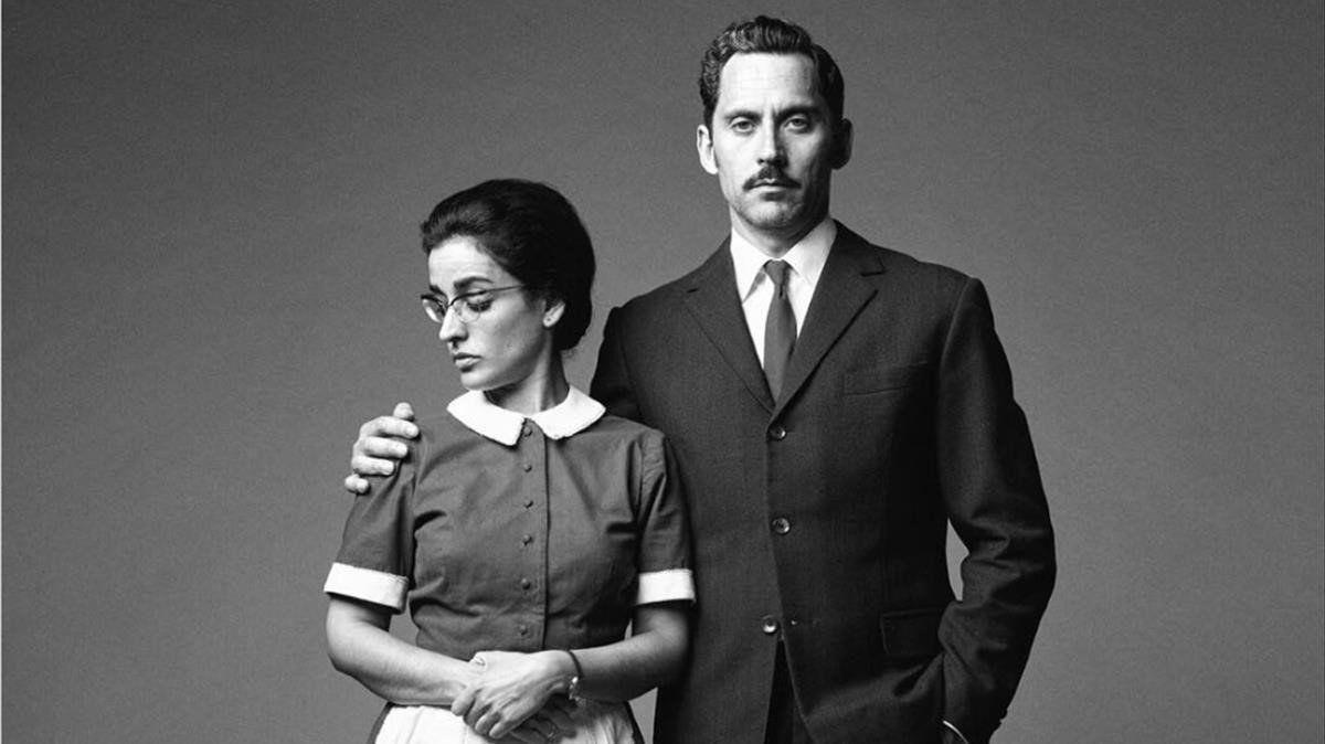 Inma Cuesta Y Paco León Caracterizados Para La Serie Arde Madrid Mejores Series Ava Gardner Series