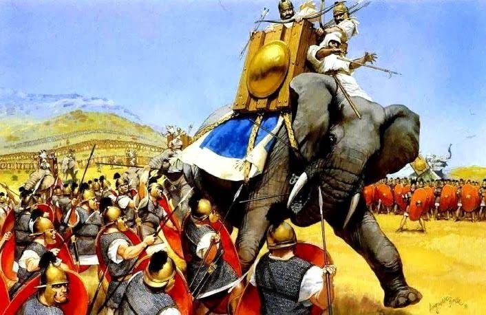 Os Cartagineses Utilizaram Elefantes Em Todas As Guerras Punicas