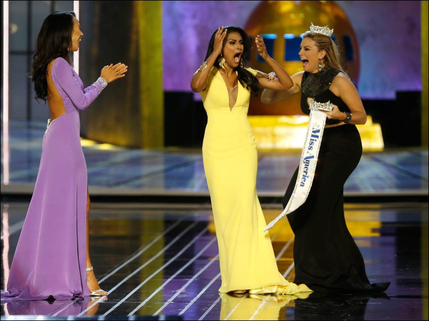 Miss America 2014 evening Gown | Dresses and Gowns Ideas | Pinterest ...