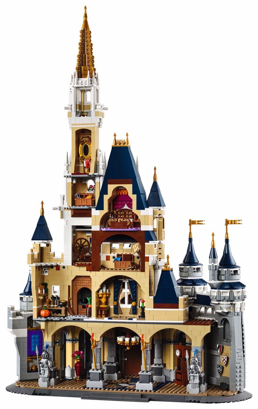 LEGO 71040 The Disney Castle - back