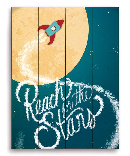 Blue \'Reach for the Stars\' Wall Art | ** Wish List & Fun Products ...