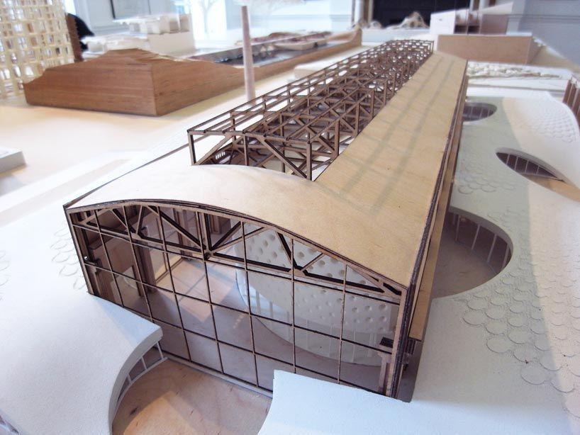 tian di factory h' (2010-ongoing) hangzhou, china, architectural model, modelo, maquette'xin tian di factory h' (2010-ongoing) hangzhou, china, architectural model, modelo, maquette