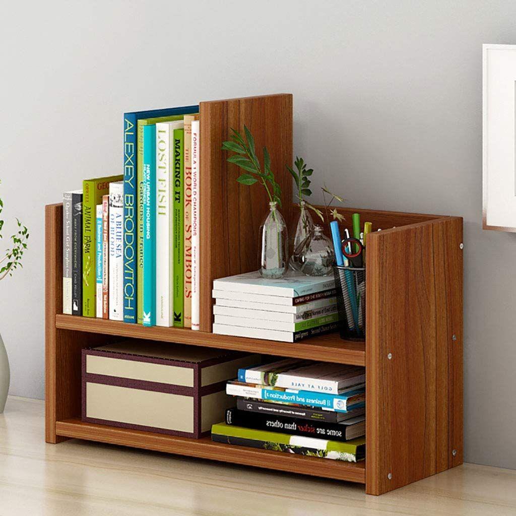 Bookshelf Desktop Storage Student With Simple Racks Small Bookcase Floor Creative Display Stand Bookshelf C In 2020 Small Bookshelf Small Bookcase Desktop Bookshelf