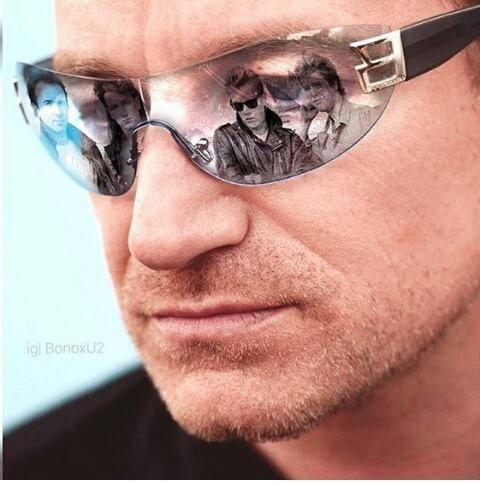 Bono Reflection Glasses Bono Bono U2 Cool Bands
