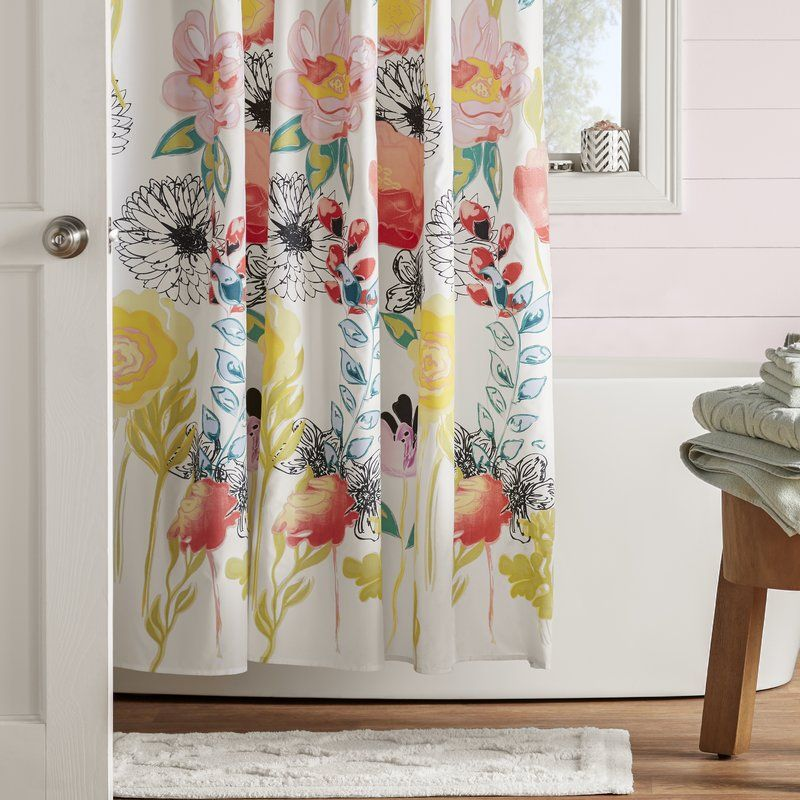 Whether You Re Completing Your Powder Room Ensemble Or Looking For A Quick Master Bath Refresh This Essential Shower Curtain Abounds With Versatile Eal