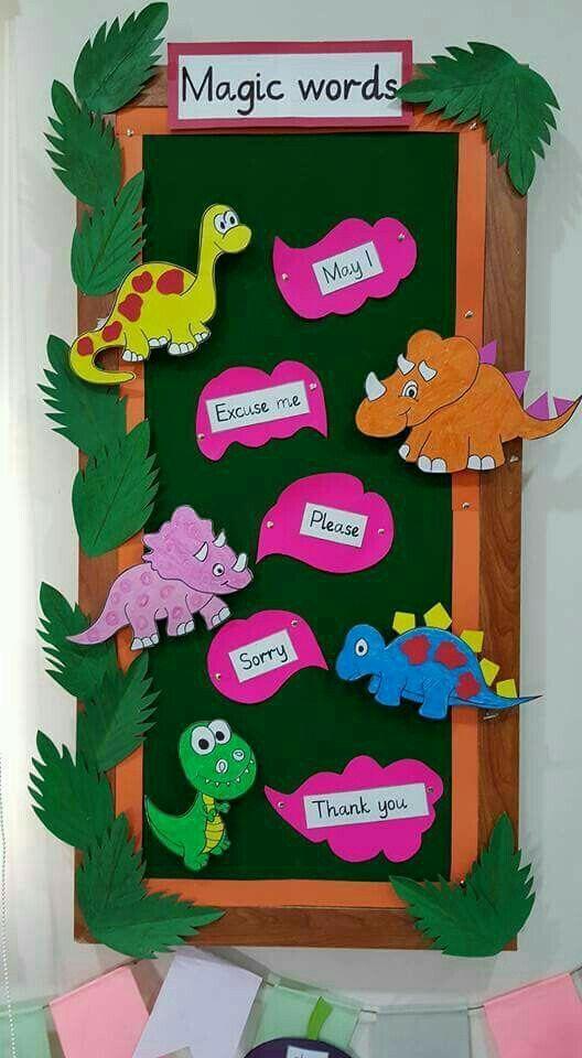 الكلمه الطيبه صدقه | Kindergarten classroom decor ...