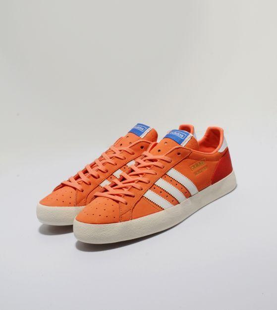 I'm obsessed with orange at the moment - adidas OriginalsBasket Profi Lo