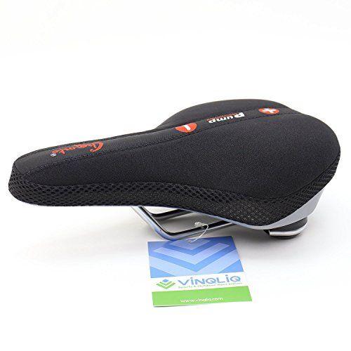 BMX Mountain Bike Road Bike Vinqliq Professional Bike Saddle Bicycle Comfort Seat Cushion Pad Shockproof Ergonomic Design for Cycling MTB Folding Bike